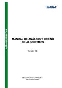 Manual de análisis y diseño de algoritmos