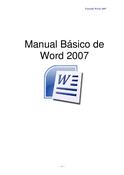 Manual Básico de Word 2007