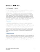 Curso de HTML 4.0