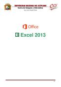 Microsoft Excel 2013 Básico