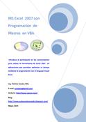 Excel con Programación de Macros en VBA