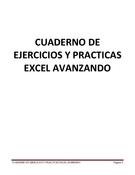 Ejercicios y prácticas excel avanzando