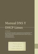 Manual introducción a DNS y DHCP Linux