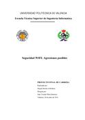 Seguridad WIFI Agresiones posibles