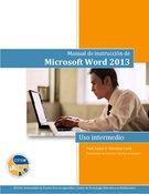 Manual de instrucción de Microsoft Word 2013:  intermedio