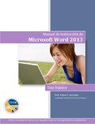 Manual de instrucción de Microsoft Word 2013: básico