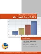 Manual de instrucción de Microsoft Excel 2013: básico